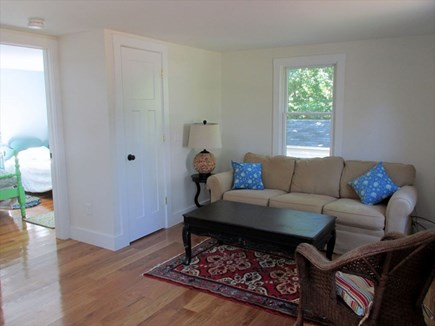 Eastham Cape Cod vacation rental - Entry way Den area
