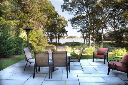 Falmouth Cape Cod vacation rental - Waterside patio