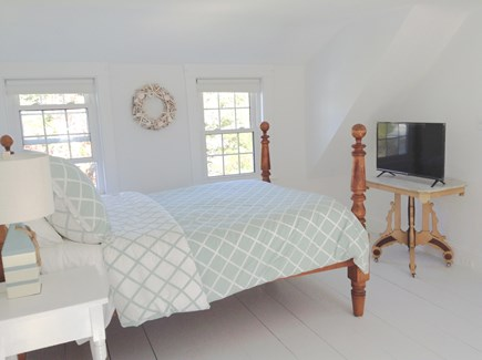 Orleans Cape Cod vacation rental - Bedroom on 2nd Floor with TV and A/C Unit