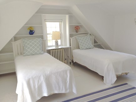 Orleans Cape Cod vacation rental - Bedroom on 2nd floor with 2 twins, A/C unit and TV