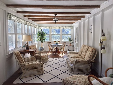 Orleans Cape Cod vacation rental - Sunroom / Porch Area