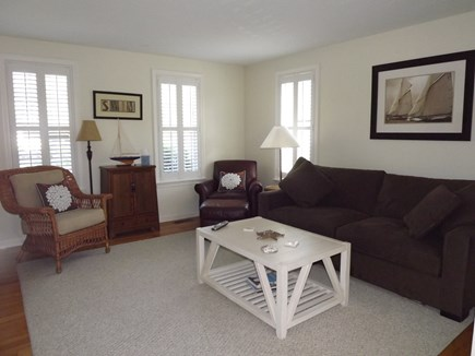 Chatham Cape Cod vacation rental - First Floor Den with Queen Sleeper Sofa
