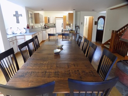 Wellfleet Cape Cod vacation rental - Dining table to seat 12