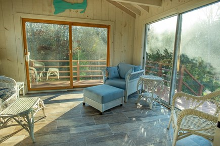 Mashpee, Popponesset Beach Cape Cod vacation rental - Open all sliders and enjoy the Cape's sea breezes