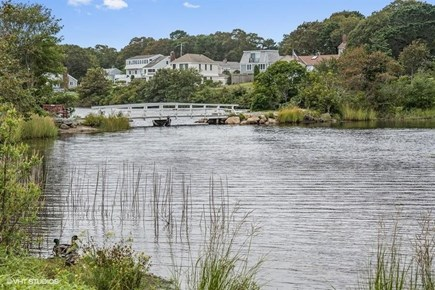 Mashpee, Popponesset Beach Cape Cod vacation rental - Kids love fishing off the nearby picturesque Deans Pond bridge