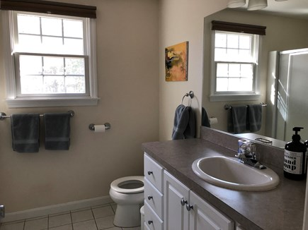 Osterville Woods, Osterville Osterville vacation rental - Upstairs Family Bathroom with shower