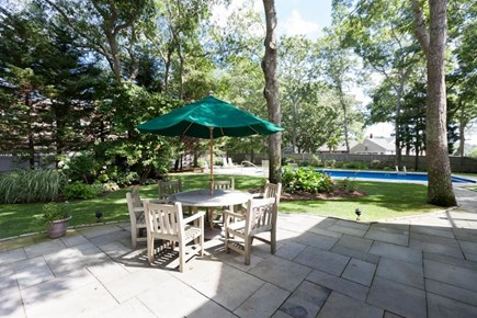 Osterville Osterville vacation rental - Patio close to pool area.