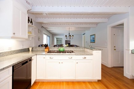 Osterville Osterville vacation rental - Open Kitchen with a built-in desk area.