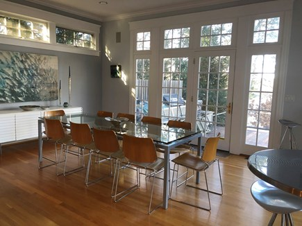 Brewster Cape Cod vacation rental - Dining room seats 10+ (cafe tables and bar provide added seats)