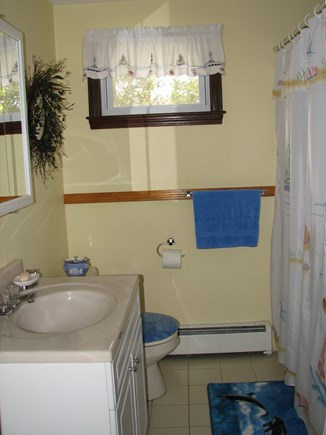 Falmouth, Teaticket Cape Cod vacation rental - Bathroom 1-downstairs