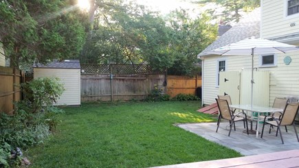 Falmouth, Teaticket Cape Cod vacation rental - Back yard