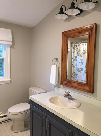 Eastham Cape Cod vacation rental - 2nd floor full bath with tub & shower.
