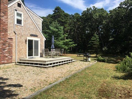 Eastham Cape Cod vacation rental - Private backyard to relax and enjoy after a day at the beach.