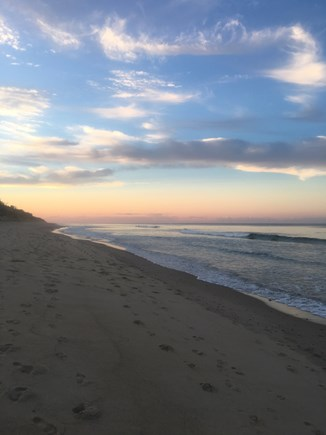 Eastham Cape Cod vacation rental - Another gorgeous skyscape at Nauset Light Beach.