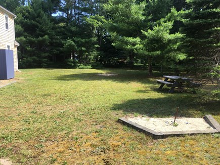 Eastham Cape Cod vacation rental - Large, private backyard