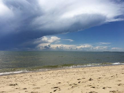 Eastham Cape Cod vacation rental - Dramatic skies on the bay side