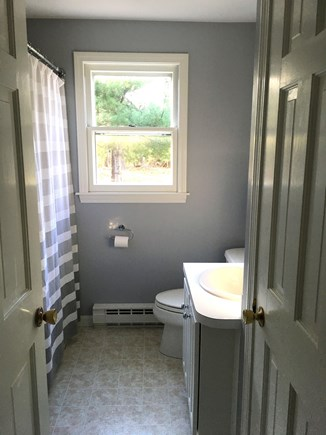 Eastham Cape Cod vacation rental - 1st floor full bath with tub & shower.
