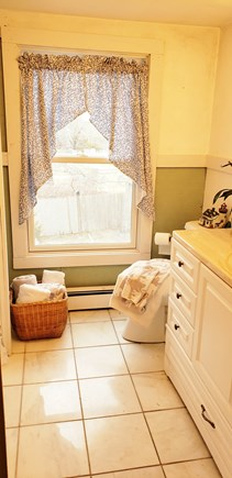 Dennisport Cape Cod vacation rental - Full Bathroom upstairs between two king bedrooms