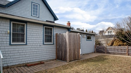 Falmouth Heights Cape Cod vacation rental - Fenced in yard with outdoor shower