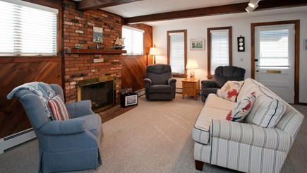 Falmouth Heights Cape Cod vacation rental - Large living room area