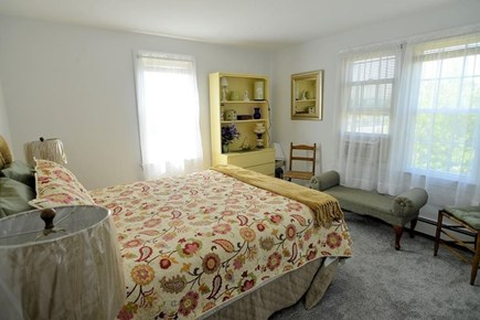 West Yarmouth Cape Cod vacation rental - Master Bedroom with a peak of the ocean