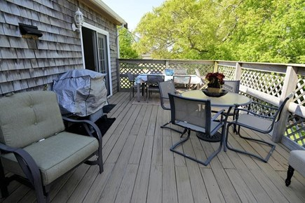 West Yarmouth Cape Cod vacation rental - Spacious sunny deck