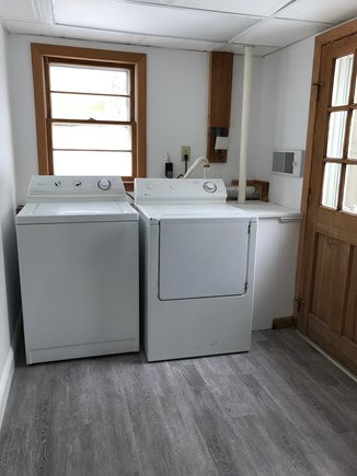 EASTHAM Cape Cod vacation rental - Laundry room