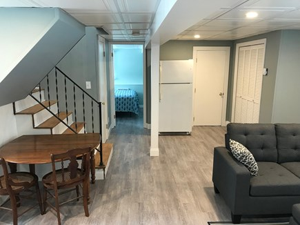 EASTHAM Cape Cod vacation rental - Extra fridge and game table in the lower level
