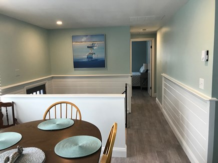 EASTHAM Cape Cod vacation rental - Looking down the hall from the dining area