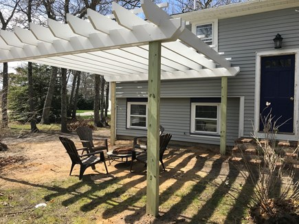 EASTHAM Cape Cod vacation rental - Pergola for outdoor enjoyment