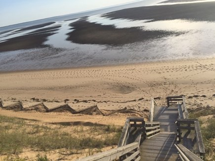 EASTHAM Cape Cod vacation rental - Private association stairs to your beach.