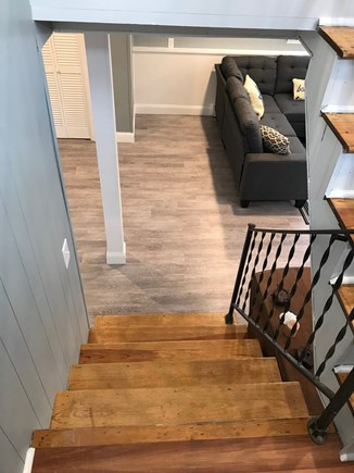 EASTHAM Cape Cod vacation rental - Stairs to the lower level