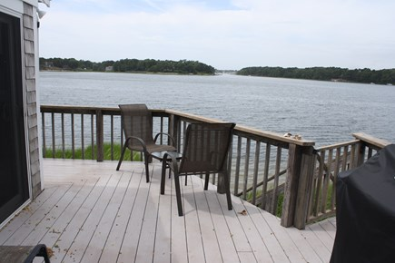South Dennis Cape Cod vacation rental - Deck