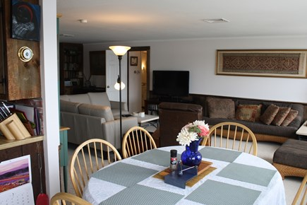 South Dennis Cape Cod vacation rental - living/dining