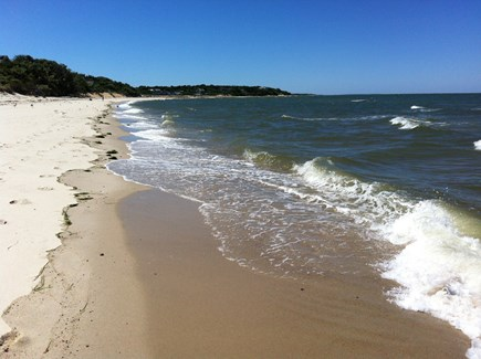 Brewster Cape Cod vacation rental - The beach is on Cape Cod Bay and never very crowded.