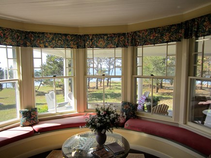 Wareham, Cod Canal and Little Harbor Ba MA vacation rental - Living room bay window