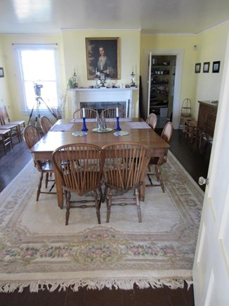 Wareham, Cod Canal and Little Harbor Ba MA vacation rental - Dining room table seats 16