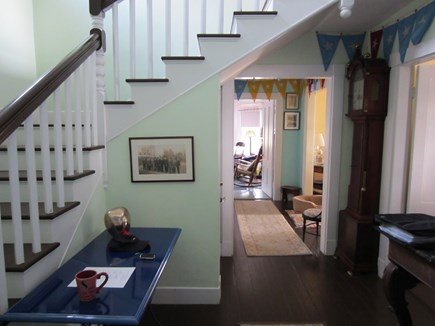 Wareham, Cod Canal and Little Harbor Ba MA vacation rental - Front hallway looking towards den