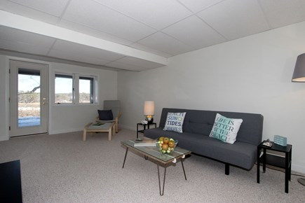 Eastham Cape Cod vacation rental - Lower Level sitting area
