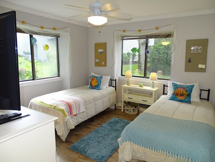 Brewster, Ocean Edge Resort  Cape Cod vacation rental - Twin bedroom with flatscreen TV