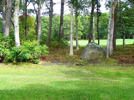 Brewster, Ocean Edge Resort  Cape Cod vacation rental - View from patio – facing 4th hole of golf course