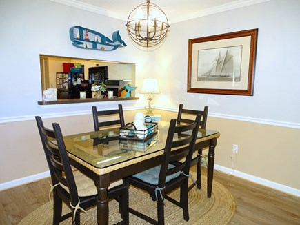 Brewster, Ocean Edge Resort  Cape Cod vacation rental - Dining area – view into kitchen