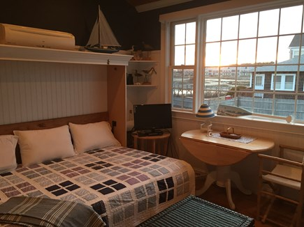 West Yarmouth Cape Cod vacation rental - Beautiful picture window to view the sunset after your beach day.