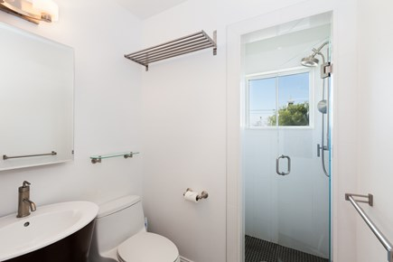 Provincetown Cape Cod vacation rental - Bathroom with dual shower head