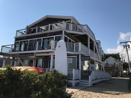 Provincetown Cape Cod vacation rental - Front of building. Enjoy water sports just outside your door!