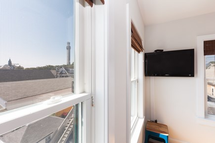Provincetown Cape Cod vacation rental - View of Pilgrim Monument from your bedroom windows