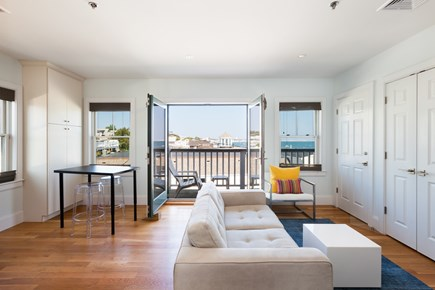 Provincetown Cape Cod vacation rental - Waterfront 1 bedroom penthouse on Commercial St w/parking!