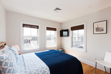 Provincetown Cape Cod vacation rental - Bedroom with queen size bed