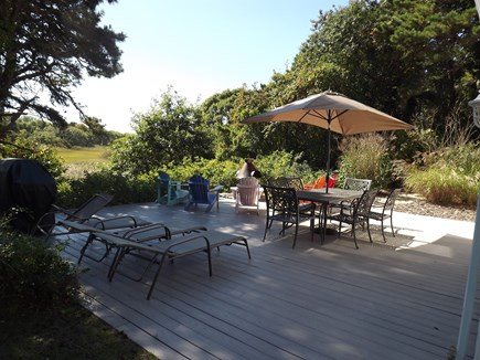 Chatham Cape Cod vacation rental - Expansive Deck to Grill, Dine, Lounge & Relax