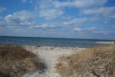 Falmouth Cape Cod vacation rental - Walking onto Woodneck Beach (great sunsets)